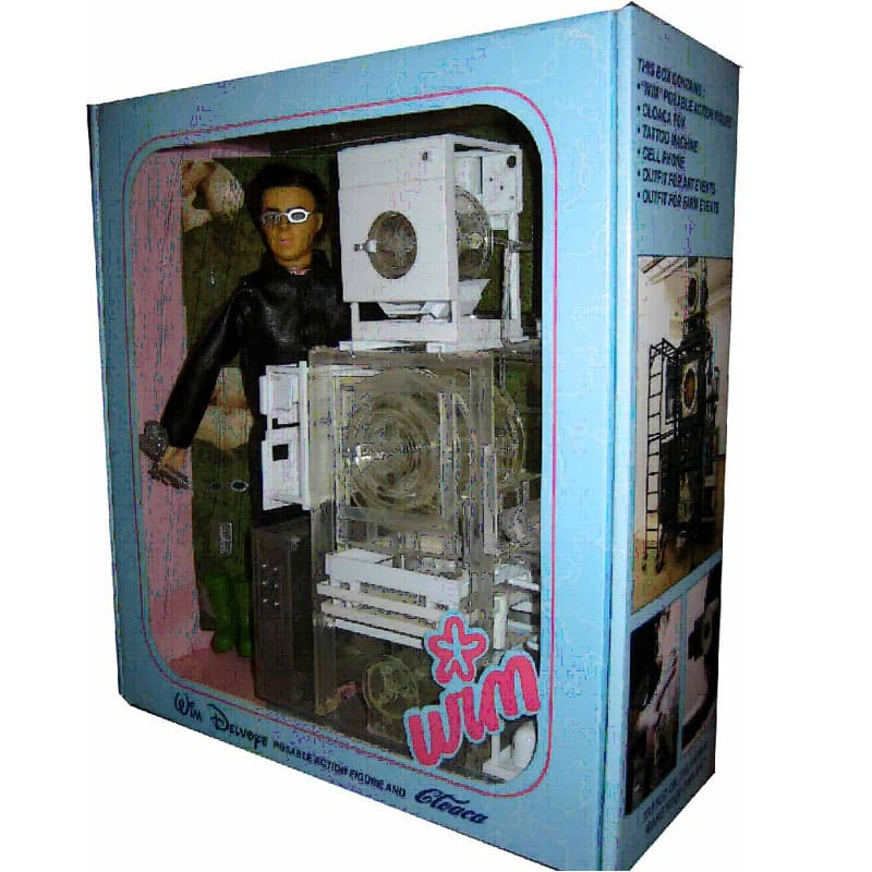 DELVOYE Wim _ Action Doll