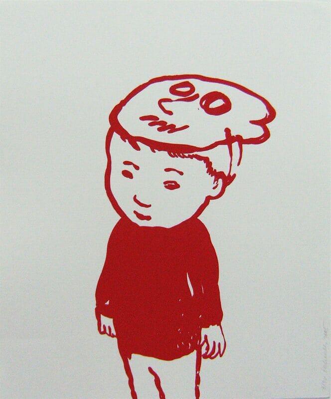 PETROVITCH Françoise_Rougir L'enfant au masque