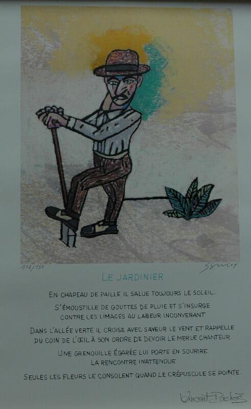 SEGUI Antonio -le jardinier