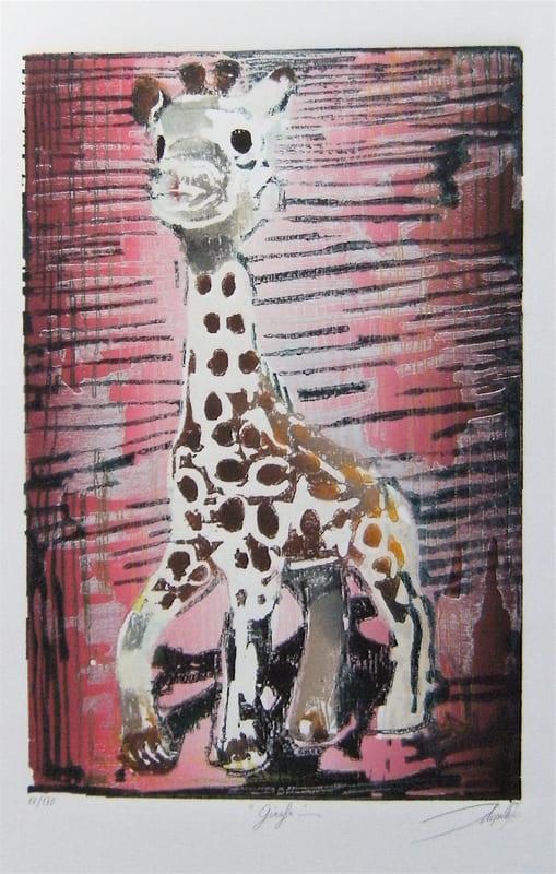 DELESALLE David _ Sophie la girafe