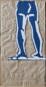 D'après le baigneur de Cézanne - BURAGLIO Pierre